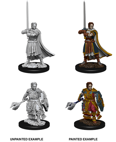 WZK73672: Male Human Cleric: D&D Nolzur's Marvelous Unpainted Miniatures (W8) - pre-order expected May 2019