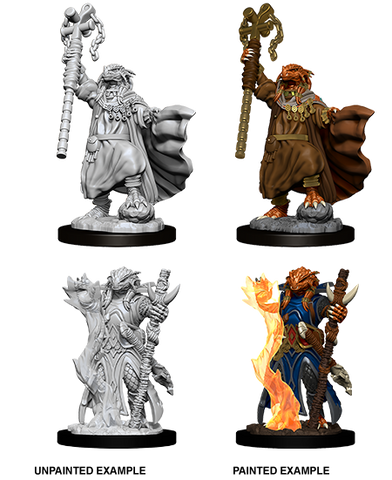 WZK73674: Female Dragonborn Sorcerer: D&D Nolzur's Marvelous Unpainted Miniatures (W8) - pre-order expected May 2019
