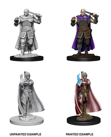 WZK73675: Minsc and Boo & Delina: D&D Nolzur's Marvelous Unpainted Miniatures (W8) - pre-order expected May 2019