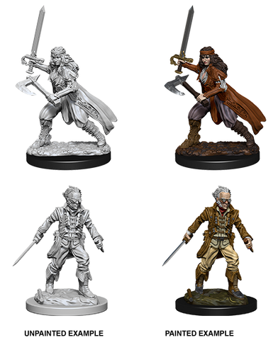 WZK73676: Vampire Hunters: D&D Nolzur's Marvelous Unpainted Miniatures (W8) - pre-order expected May 2019