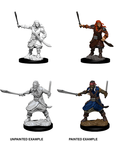 WZK73677: Bandits: D&D Nolzur's Marvelous Unpainted Miniatures (W8) - pre-order expected May 2019