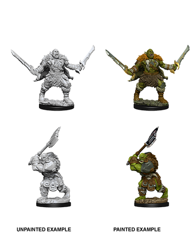 WZK73696: Orcs: Pathfinder Deep Cuts Unpainted Miniatures (W8) - pre-order expected May 2019