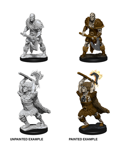 WZK73833: Male Goliath Barbarian: D&D Nolzur's Marvelous Unpainted Miniatures (W10)
