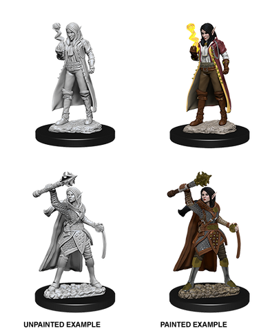 WZK73835: Female Elf Cleric: D&D Nolzur's Marvelous Unpainted Miniatures (W10)