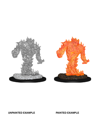 WZK73847: Fire Elemental: D&D Nolzur's Marvelous Unpainted Miniatures (W10)
