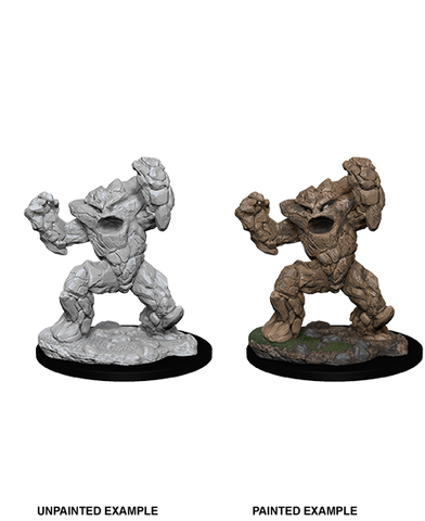 WZK73848: Earth Elemental: D&D Nolzur's Marvelous Unpainted Miniatures (W10)