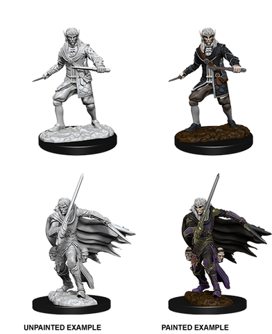 WZK73854: Male Elf Rogue: Pathfinder Deep Cuts Unpainted Miniatures (W10)