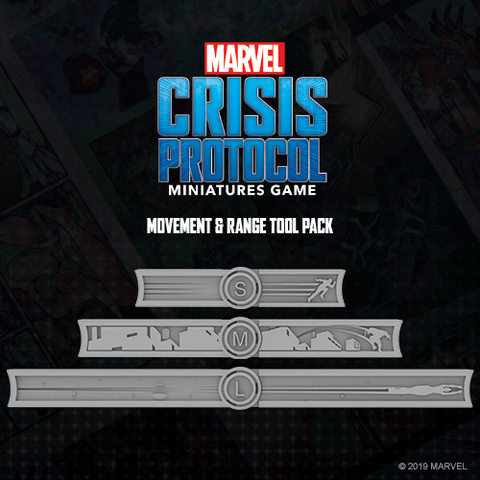 Marvel Crisis Protocol: Measurement Tools Expansion