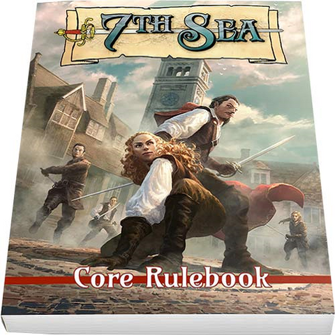 7th Sea: Second Edition + complimentary PDF - Leisure Games