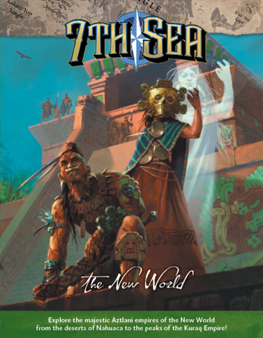 7th Sea: The New World + complimentary PDF - Leisure Games