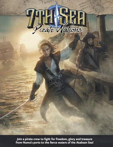 7th Sea: Pirate Nations + complimentary PDF - Leisure Games