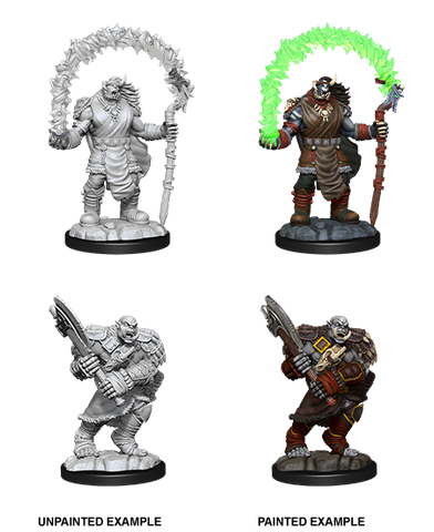 WZK90062 Orc Adventurers: D&D Nolzur's Marvelous Unpainted Miniatures (W12)