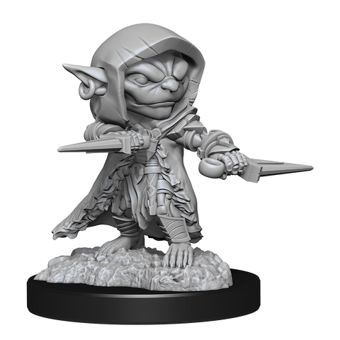 WZK90170 Goblin Rogue Male: Pathfinder Battles Deepcuts Unpainted Miniatures (W13) (expected in stock on 8th December)