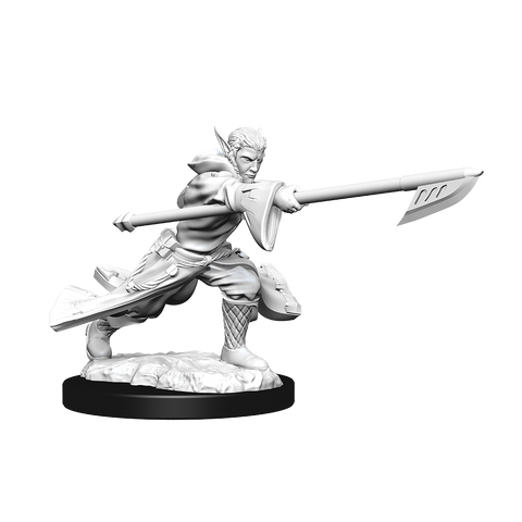 WZK90181 Joraga Warcaller & Joraga Treespeaker: Magic the Gathering Unpainted Miniatures (W13)