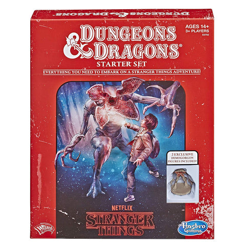 Stranger Things Dungeons & Dragons Starter Set (5th Edition)