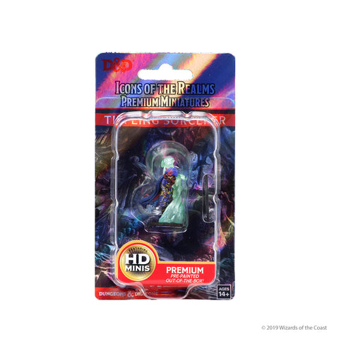 WZK93001 Tiefling Female Sorcerer D&D Icons of the Realms Premium Figures
