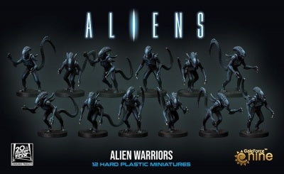 Aliens: Alien Warriors Miniatures (12)