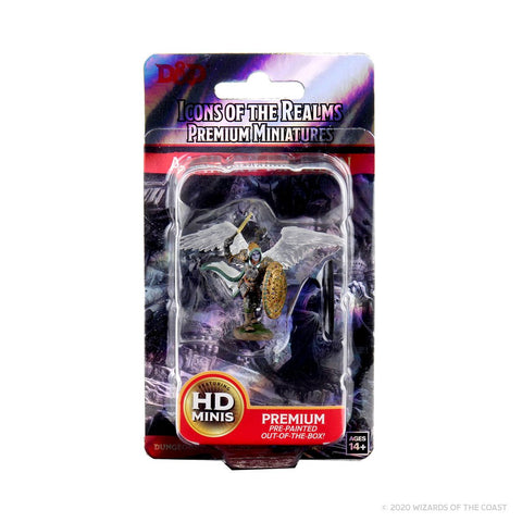 WZK93007: D&D Icons of the Realms Premium Figures: Aasimar Male Paladin