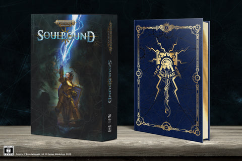 Soulbound Collector's Edition Rulebook: Warhammer Age of Sigmar Roleplay