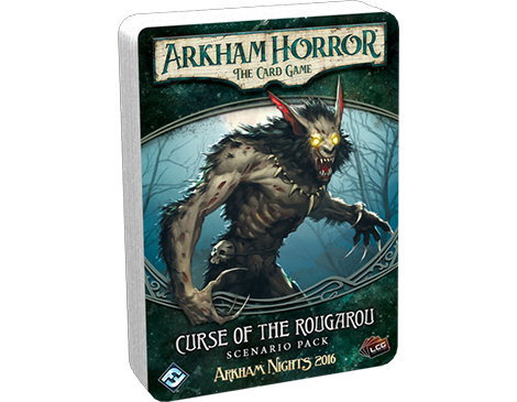 Arkham Horror The Card Game: Curse of the Rougarou Scenario Pack - Leisure Games