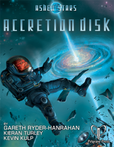 Ashen Stars: Accretion Disk + complimentary PDF - Leisure Games