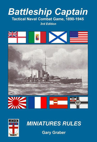 Battleship Captain 3rd Edition - Leisure Games