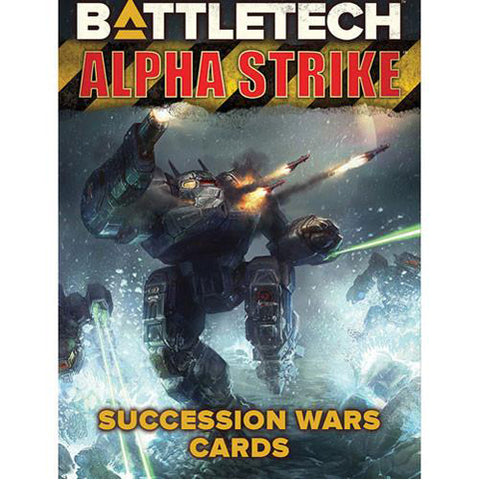 BattleTech Alpha Strike: Succession Wars Cards
