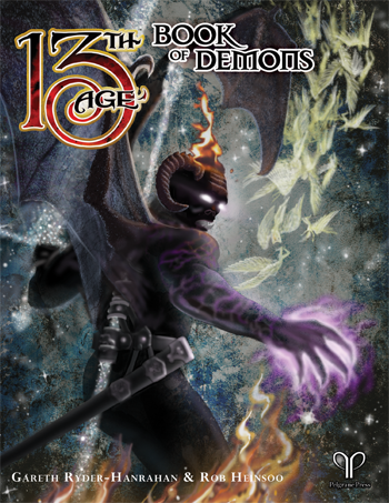 13th Age: The Book of Demons + complimentary PDF - Leisure Games