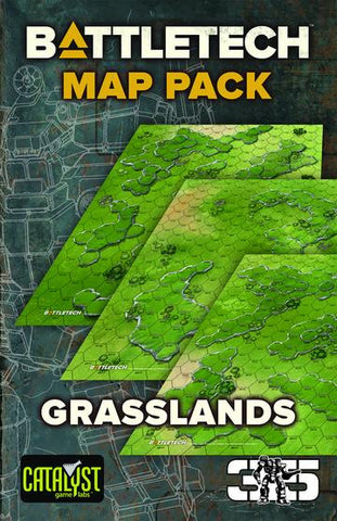 BattleTech Map Set Grasslands (expected in stock on 16th April)