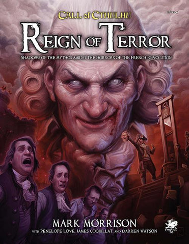 Call of Cthulhu: Reign of Terror + complimentary PDF - Leisure Games