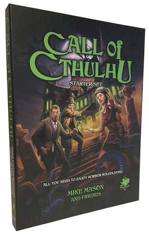 Call of Cthulhu 7th Edition Starter Set + complimentary PDF