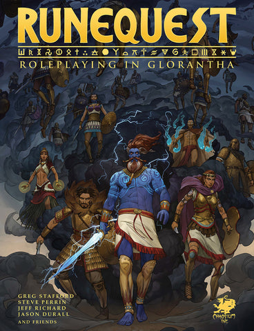 RuneQuest: Roleplaying in Glorantha - Hardcover + complimentary PDF (in stock now)