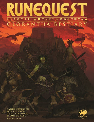 RuneQuest: Glorantha Bestiary - Hardcover + complimentary PDF