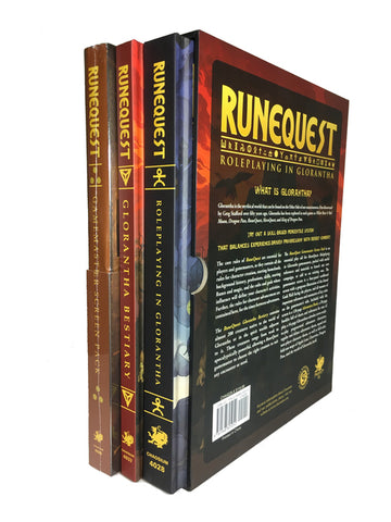 RuneQuest: Roleplaying in Glorantha - Slipcase Set + complimentary PDF