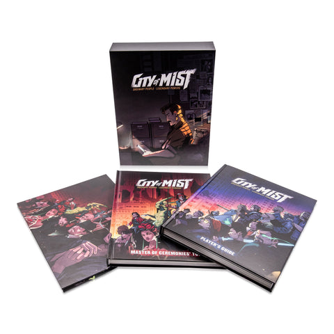 City of Mist: Premium Core Set + complimentary PDF