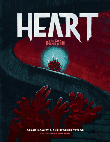 Heart: The City Beneath Core Book + complimentary PDF