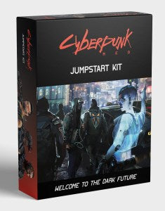 Cyberpunk Red RPG Jumpstart Kit: Boxed Set