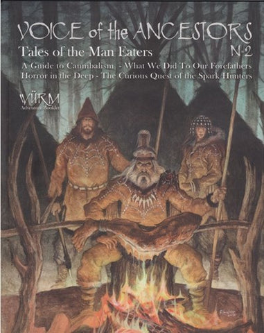 Wurm RPG: Tales of the Man Eaters, Voice of Ancestors Vol 2