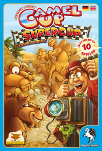 Camel Up: Supercup - Leisure Games