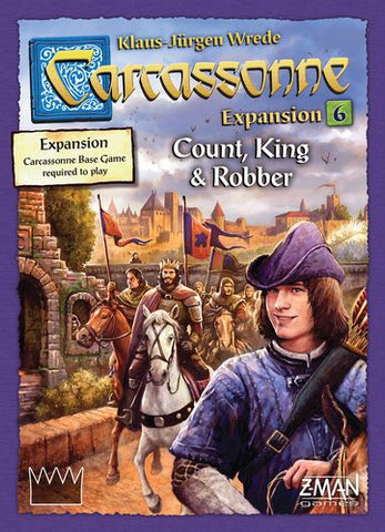 Carcassonne: Count, King and Robber - Leisure Games