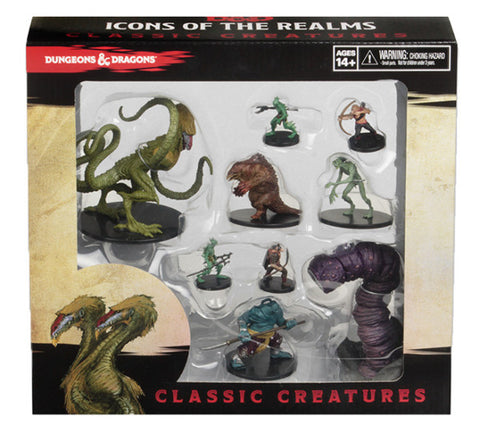 D&D Icons of the Realms: Classic Creatures Box Set (release date 23rd February)