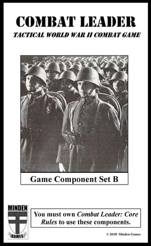 Combat Leader: Game Component Set B - Leisure Games