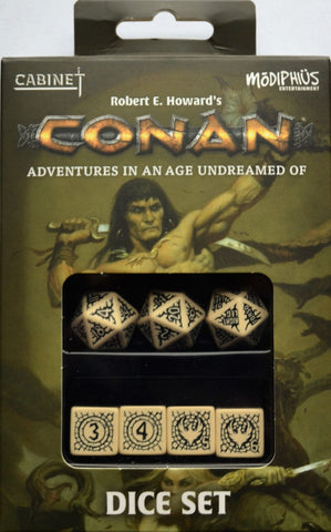 Conan RPG: Player's Dice Set - Leisure Games