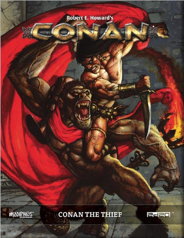 Conan RPG: Conan the Thief + complimentary PDF - Leisure Games