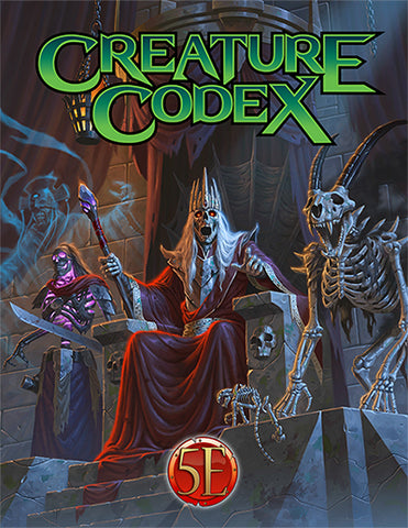 Creature Codex Hardcover (5e) - Leisure Games