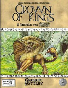 Advanced Fighting Fantasy: Crown of Kings + complimentary PDF - Leisure Games
