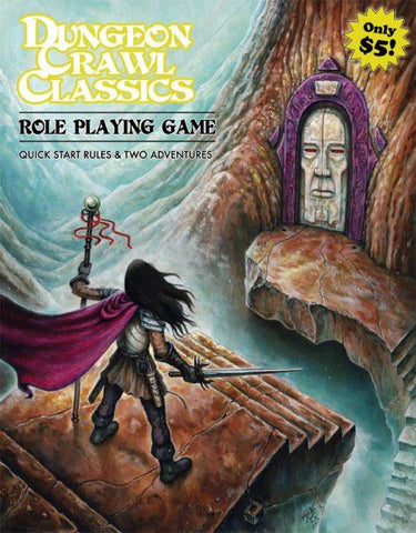 Dungeon Crawl Classics RPG Quickstart Rules