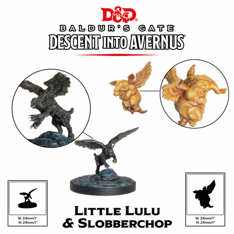 D&D Collector's Series Descent into Avernus: Lulu and Slobberchops