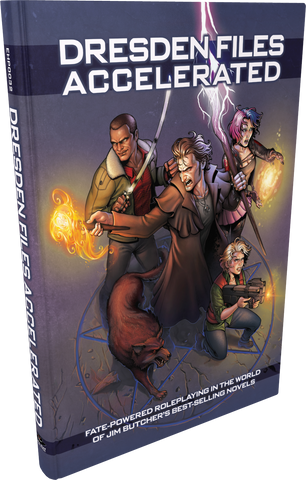 Dresden Files Accelerated + complimentary PDF
