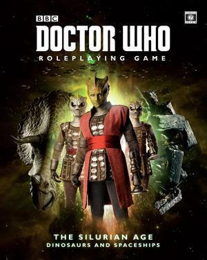 Doctor Who RPG: The Silurian Age + complimentary PDF